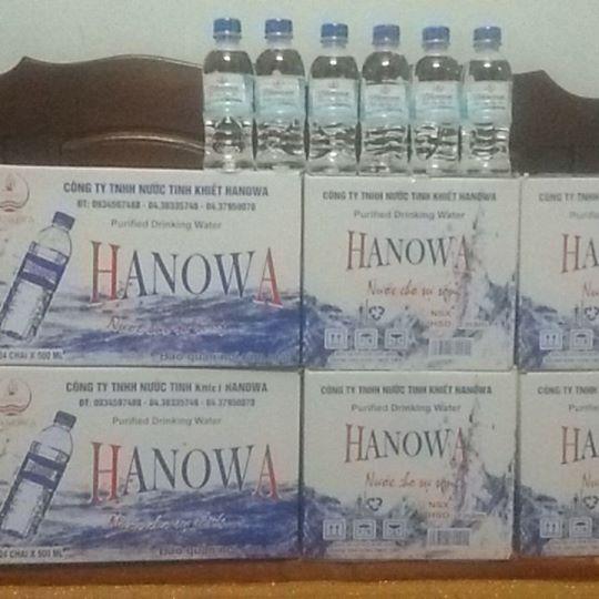 Nước uống đóng chai 350ml - Thùng 24 chai